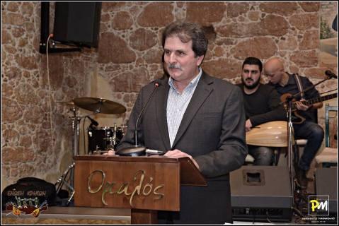 Ο Πρόεδρος της Ένωσης κ. Περαθωράκης