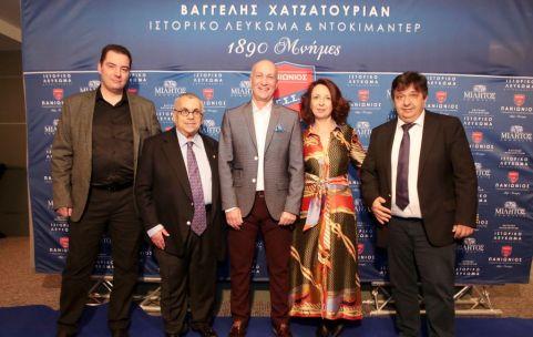 Ευάνθης Γκογκούλης, Νίκος Χατζηγεωργίου, Βαγγέλης Χατζατουριάν, Μαίρη Αδαμοπούλου και Νίκος Χαϊδεμένος