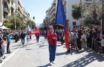 O ιστορικός Πανιώνιος ΓΣΣ άνοιξε όπως κάθε χρόνο την παρέλαση