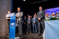 Ο Υπουργός Χάρης Θεοχάρης απευθύνει χαιρετισμό