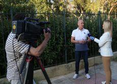 Ο Βαγγέλης Χατζατουριάν μιλάει στις ειδήσεις του ΑΝΤ1 για το event